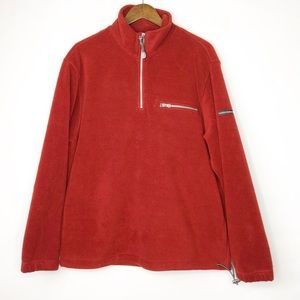 IZOD Men's Perform X Red Pullover in EUC - XL